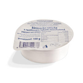 Bánovecká spread with vegetable fat unflavored 100 g